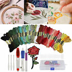 DIY Magic Craft Tools Punch Needle Embroidery Pen Set ABS Plastic Threaders