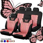 Auto Seat Covers Decor Car Truck Suv Van Universal Protectors Front Rear Row