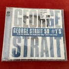 GEORGE STRAIT - 50 NUMBER ONES HITS - BRAND NEW CD SET Sealed Country The King
