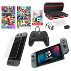 Nintendo Switch with Gray Joy Cons All In One System Bundle BRAND NEW SHIPS FAST