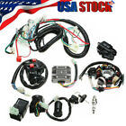 Full Electrics Wiring Harness Wire Loom For ATV QUAD CG150 200 250CC Stator CDI