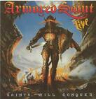Armored Saint Saints Will Conquer Live 80s Heavy Metal Blade Music Rare OOP CD