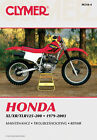 Honda Xl Xr Tlr125-200 Workshop Repair Service Manual Clymer Haynes 1979-2003