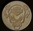 Leather Tooling Embossing Stamp - Harley Davidson Skulls For Veg Tanned Leather