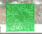 Tree Of Life Stained Glass Handmade Window Panel Suncatcher With Free Shipping