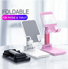 Universal Tablet Stand Desktop Holder Mount For Cell Mobile Phone iPhone Samsung