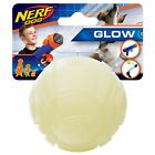Nerf Dog Rubber Sonic Ball Dog Toy with Interactive Glow Lightweight