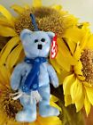 TY Jingle Beanies ~ 1999 HOLIDAY TEDDY Bear #3508 from 2001 New and Retired