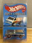 2003 Hot Wheels Redline Club Exclusive Super Chromes Bye Focal New Protect Case