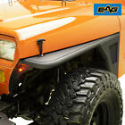 EAG Front Fenders Flare Rock Guard W LED Eagle Light Fit 87 95 Jeep Wrangle