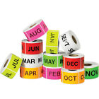 Tape Logic Easy Order Packs Months Of The Year 2 x 3 Assorted Colors 12 Case