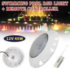 AC12V 45W RGB Swimming LED Pool Lights underwater light IP68 Waterproof Lamp New