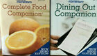 Weight Watchers 2010 COMPLETE FOOD DINING OUT POCKET GUIDE COMPANION 3 Books