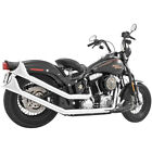 Freedom Performance Chrome Sharktail Upsweeps Exhaust System HD00264