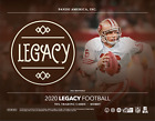 2020 PANINI LEGACY FOOTBALL FACTORY SEALED HOBBY BOX
