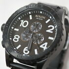 Nixon 51-30 Chrono All Black A083001 Mens Chronograph Watches _156