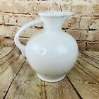 Homer Laughlin Fiesta Ware White Carafe Pitcher 8 Inches Tall