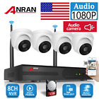 ANRAN Audio 1080P Home Security Camera System Wireless 1TB Hard Drive Outdoor HD