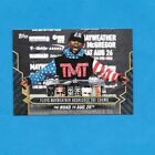 2017 Topps On Demand FLOYD MAYWEATHER vs CONOR MCGREGOR 17 25 Road to Aug 26 3B