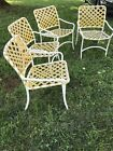 Vintage Tropitone Pool Strap Chairs Set Of 4