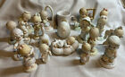 LOT OF 19 PRECIOUS MOMENTS FIGURINES  ITEMS