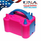 110V Two Nozzle Color Air Blower Electric Balloon Inflator Pump Banquet Party