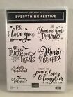 EVERYTHING FESTIVE Stamp Set Stampin Up Halloween Christmas New Year Valentine
