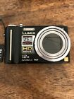Panasonic Lumix DMC-TZ7 Carry Case Battery, Battery Charger & NO SD Card SOLD