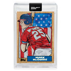 Topps Project 2020 #81 1987 Mark McGwire by Blake Jamieson In Hand w Box