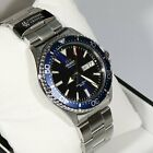 Orient Kamasu Stainless Steel Automatic Blue Dial Diver Men's Watch RA-AA002L
