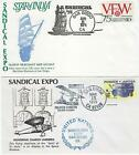 Sandical 1972 1973 1974  1975 Covers including Lindbergh commemoration