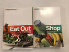 Weight Watchers SHOP and EAT OUT 2 Book Set Best Cart Option Menu Choice