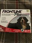Frontline Plus for Extra Large Dogs 89 132 lbs 3 month Genuine EPA Approved