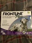 Frontline Plus Flea and Tick Treatment Control for Large Dogs45 88 lbs 3 Doses
