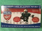 2012 LEAF FOOTBALL YOUNG STARS BLISTER BOX WITH 2 AUTO PER BOX FACT SEALD