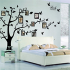 Huge Family Tree Wall Stickers Birds Photo Frame Quotes Art Decals Home Decor US