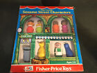 Vintage Fisher Price Little People Play Family Sesame Street 939 In Box