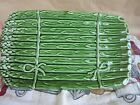 Olfaire Asparagus Rectangular Serving Platter 8510 all one color
