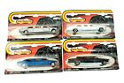 4 Majorette Limousines In Package 2 Mercedes 326  2 Cadillac 339 Series 300