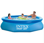 Intex Easy Set 10ft x 30in Above Ground Inflatable Round Swimming Pool FREE SHIP