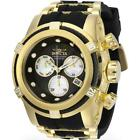 Invicta Bolt Zeus 28157 Men's Mother of Pearl Chronograph Black Silicone Watch