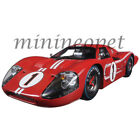 COLLECTIBLES 423 1967 FORD GT MK IV LEMANS WINNER 24HRS 1 18 DIECAST 1 RED
