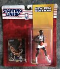 1994 Starting Lineup Laphonso Ellis Denver Nuggets Kenner NBA Basketball Figure
