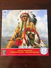 NEW Ceaco 1000 pc PUZZLE Native American Indian Portraits SEALED Bonus Poster