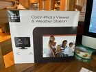 The shaper image color photo viewer and weather station