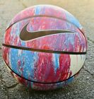 Nike Basketball Limited Edition REAR 295 Full Ball Basket Pink Blue White NEW