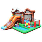 Inflatable Bouncer Bounce Snow House Jump Climbing Slide w BallPit  tunnel