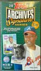 2020 TOPPS ARCHIVES SIGNATURE SERIES BASEBALL HOBBY BOX - RETIRED PLAYER EDITION