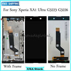 For Sony C7 Xperia XA1 Ultra G3223 G3226 LCD Touch Screen Digitizer ± Frame New