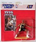 1996 Starting Lineup Reggie Miller Indiana Pacers SLU Kenner Sports Figure